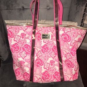 Lilly Pulitzer Phi Mu Print Bag